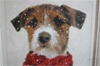 Winter Terrier Picture
