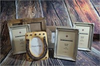 Large Lot of Photo Frames barn wood
