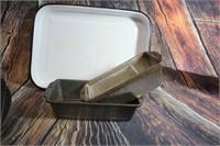 Vintage Metal Pan Cupcake Pans Loaf Pans