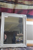 Nice Wall Mirror and Wood Photo Frame