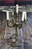 Art Deco Vintage Metal Table Lamp