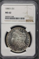 Tuesday, October 13th Collector Coin Online Only Auction