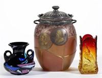 Rare Mt. Washington and New England Glass Co. art glass - Sheriff collection