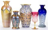 Sample of Durand art glass