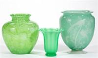 Sample of Steuben art glass