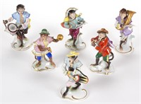 Large selection of porcelain figures