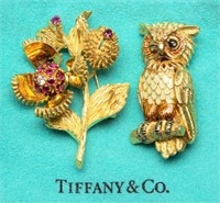 Large selection of vintage Tiffany jewelry, including examples by designers Jean Schlumberger and Paloma Picasso