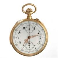 Swiss 18K repeater pocket watch