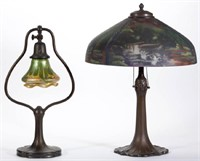 Fine lighting by Handel and other makers