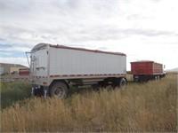 2007 Wilson Pace Setter alum. pup trailer, 20'