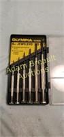 Olympia tool 6 piece Jewelers screwdriver set