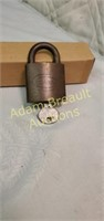 Vintage Corbin padlock with key