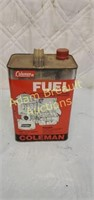 Coleman fuel, 1 gallon, unopened