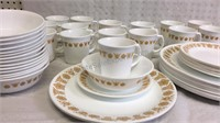 Corelle by Corning Butterfly Gold Dinnerware