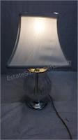 "Crystal Desk Lamp 17"""