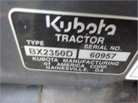 Kubota RX 2350 w/LA 243 Loader & Mower Deck