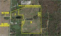 TRACT 1 - 4+/- ACRE BUILDING SITE W/ POND