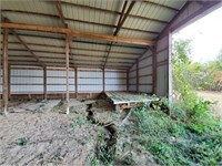 TRACT 2 - 50' x 60' MACHINE SHED ON .4+/- ACRES