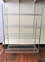 Wire shelf unit (24x48x72)