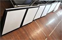 Menu boards, 16 ft total length