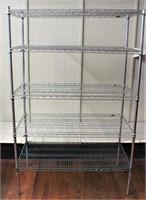 Wire shelf unit (24x48x74)