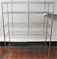 Wire shelf unit (24x60x74)