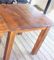 Dining table, square leg, 32x32x30 tall