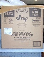 Box Of 6 Oz. Insulated Cups