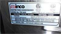 Winco Food Warmer, Model Fw-s600