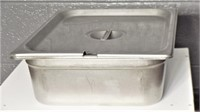 """Ss Pan, Half Size, 4"""", With Lid"""