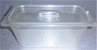 """1/3 Cambro 6"""" Deep, With Lids (8)"""