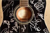AMJ 2016 Artists at Gruene Hall Signed Guitar