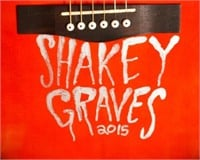 Shakey Graves Signed Guitar