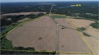 162.5 Surveyed Acres in Saline County, IL
