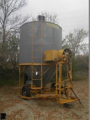Morridge 275 grain dryer, propane fired,