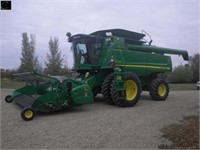 2010 JD 9770 STS, Combine
