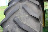 John Deere 4455 w/ clamp on Duels
