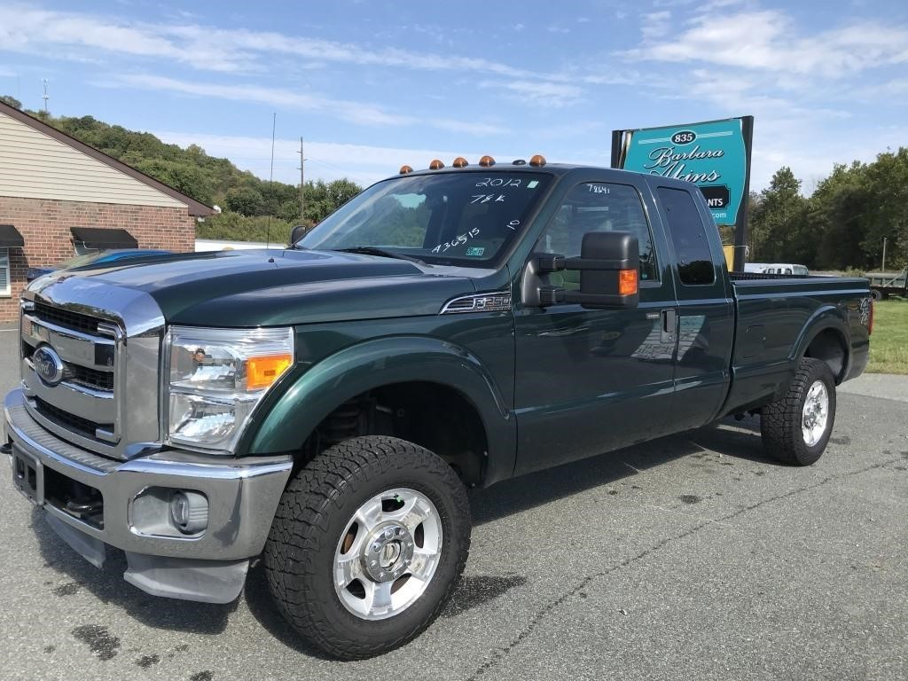 2012 Ford F250 XLT 4x4 - 78K miles