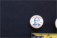 Dems Presidential Pins