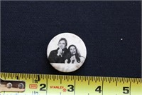 Johnny Cash & June Carter Pin