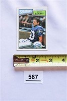 Steve Largent - Collectible Card
