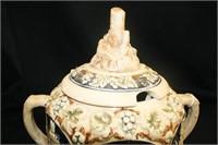 Wassail Bowl w/4 Mugs; German Designs