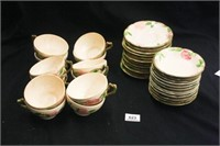 """Desert Rose"" Franciscan Pottery; Various marks"