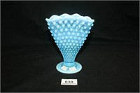 Fenton (Per seller) Blue Hobnail Vase