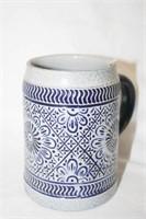 Blue/White Ceramic Pottery Pieces (3)