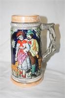 German Style Beer Mugs with Handles (4)