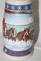 """Budweiser"" Collectors Steins (3)"