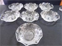 Jeanette Iris Bowls; Cups; Saucers