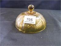Yellow Depression Glass; (22)