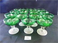 Forest Green Boopie Sherbet Dishes